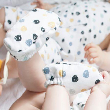 patucos para bebe reversibles